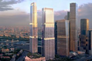 Мониторинг несущих конструкций Москва Сити